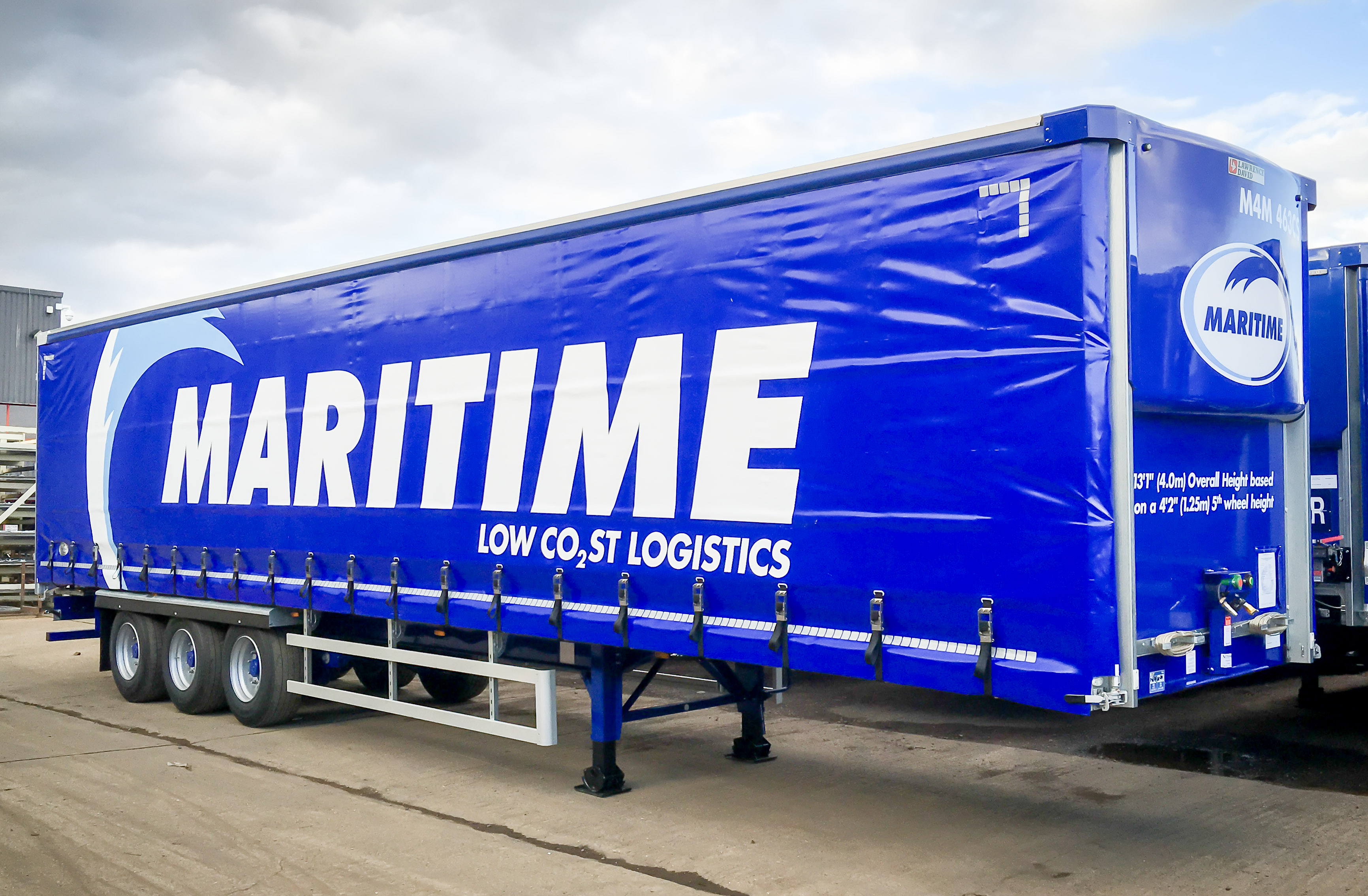 Maritime Logistics by InfiniShield